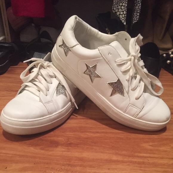 Silver Glitter Stars | Poshmark